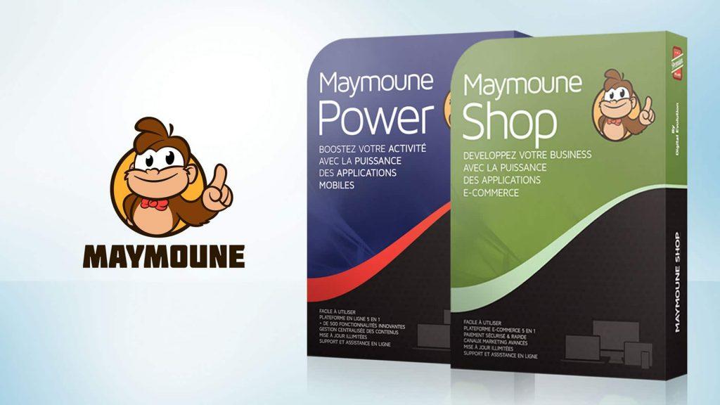 Créer une application mobile avec Maymoune